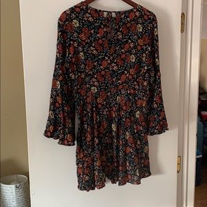 AEO floral Skirt